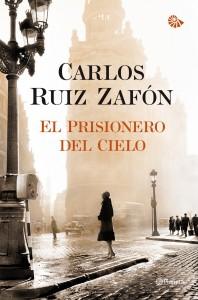 Libro El prisionero del cielo, de Carlos Ruiz Zafón