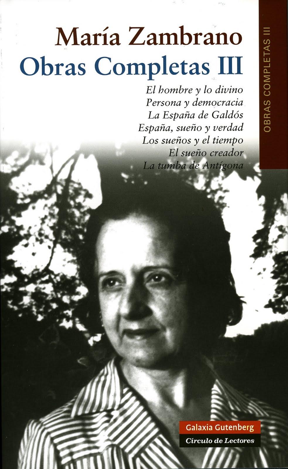 libro-obras-completas-III-maria-zambrano