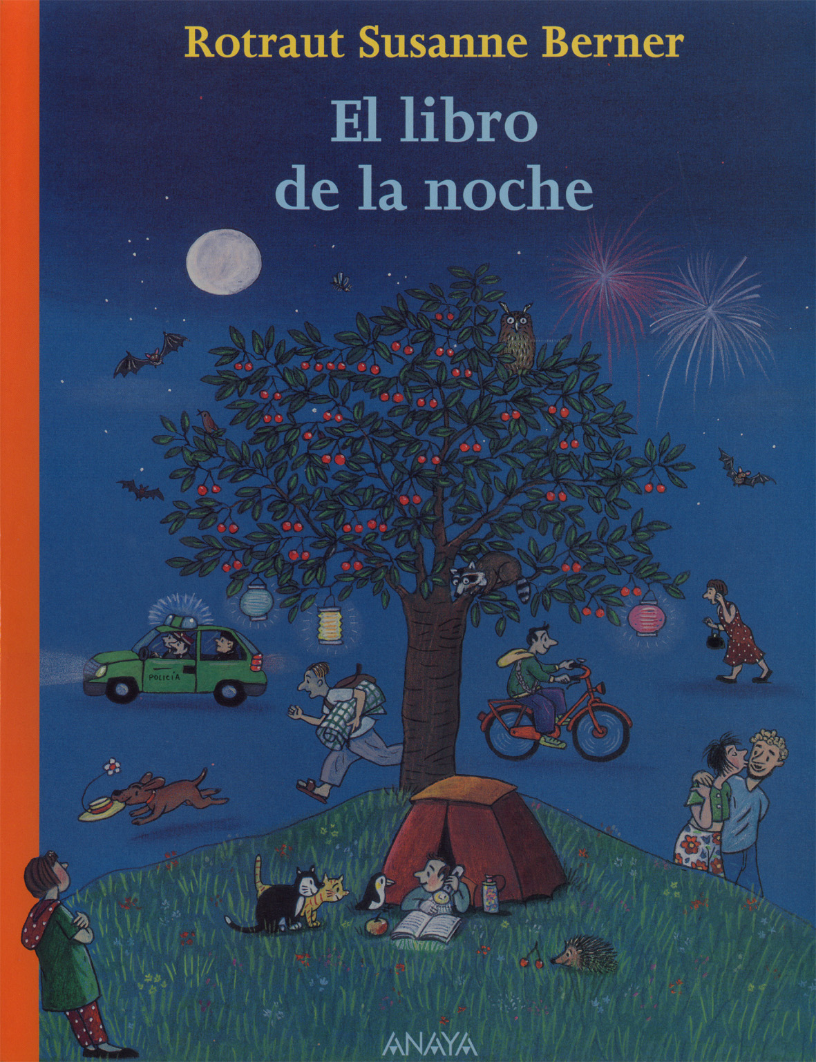 Libro infantil: El libro de la noche, Rotraut Susanne Berner