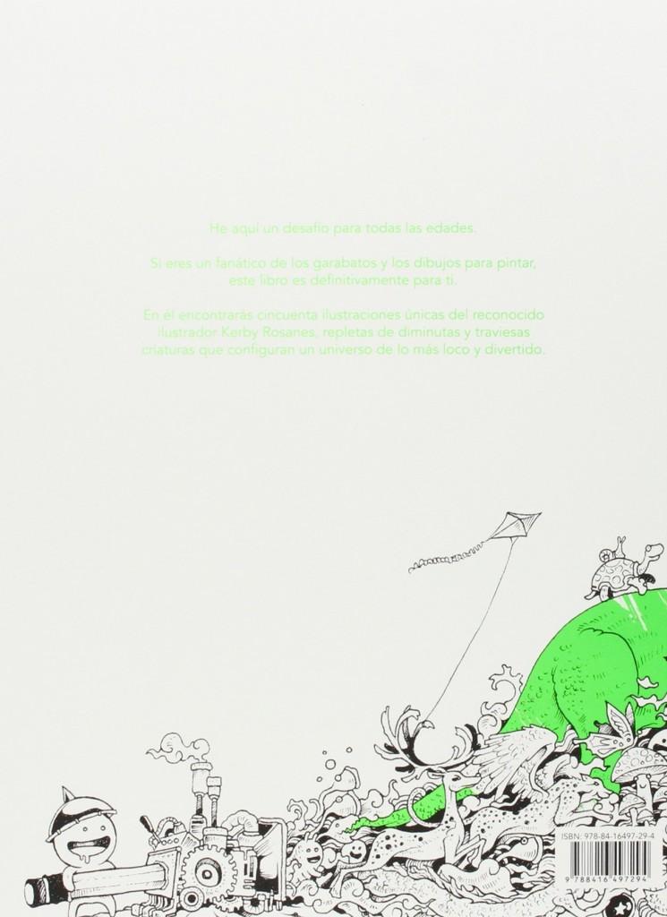 """Doodle Invasion- Un libro para colorear de Zifflin"""", Kerby Rosanes ..."""