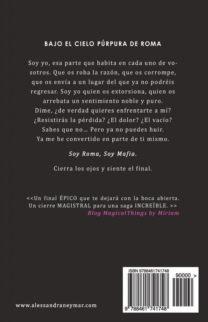 """Novela de amor juvenil """"Mafia- Mírame y dispara 5""""- Alessandra Neymar"""