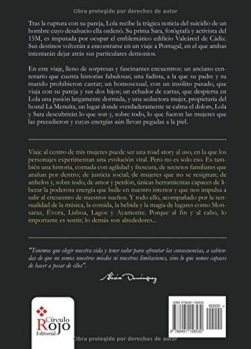 "Novela de Alicia Domínguez ""Viaje al centro de mis mujeres"""