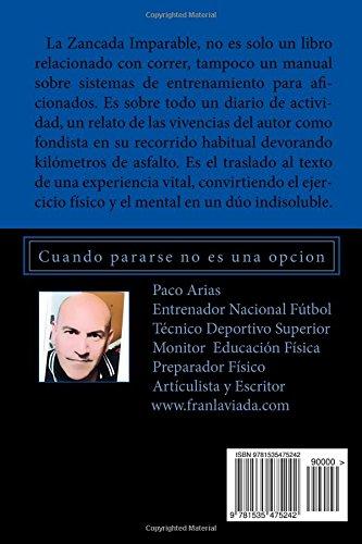 "Libro de running ""La zancada imparable""- Paco Arias"