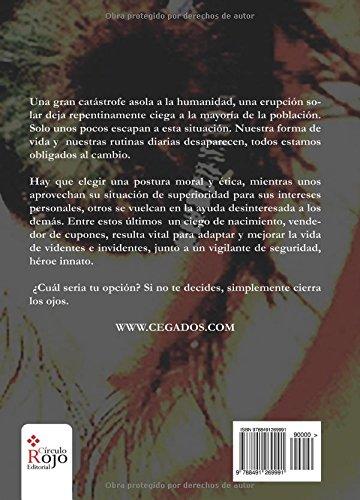 """Cegados"" es la primera novela de Fransánchez"