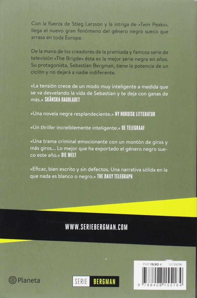 "Novela negra de autores escandinavos ""Secretos Imperfectos. Serie Bergman 1"", Michael Hjorth y Hans Rosenfeldt"
