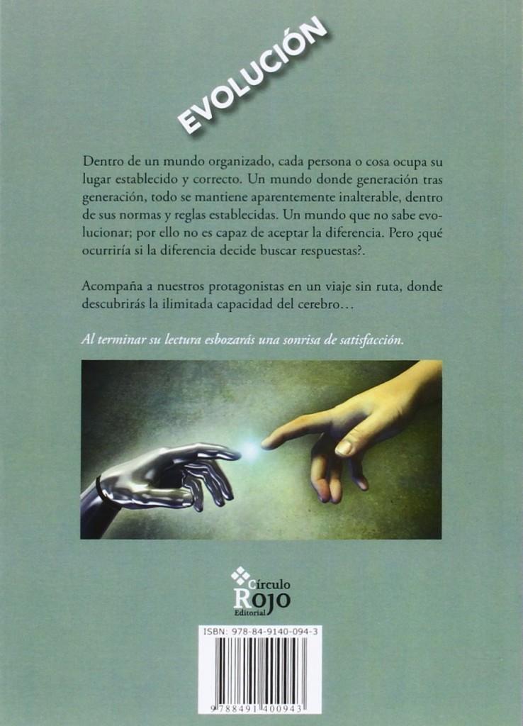 """Novela de ciencia ficción de Cristina Sotoca Romero """"Evolución""""- 2016"""