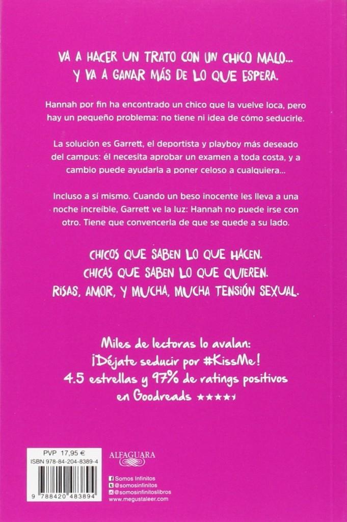 """Libro de amor juvenil """"Prohibido enamorarse- #KissMe 1""""- Elle Kennedy"""