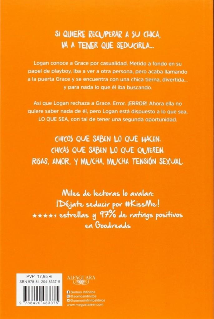 """Libro de amor juvenil """"Objetivo: tú y yo: #KissMe 2"""""""