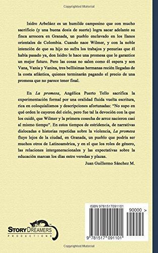 """Novela corta de Angélica Puerto Tello - """"La promesa"""""""