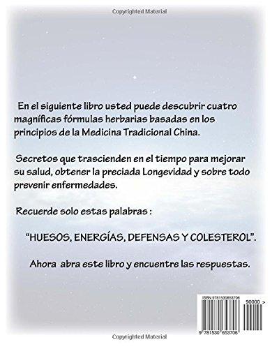 """Libro de medicina tradicional china """"Secretos de cuatro fórmulas chinas"""" Roberto Carlos Solís"""