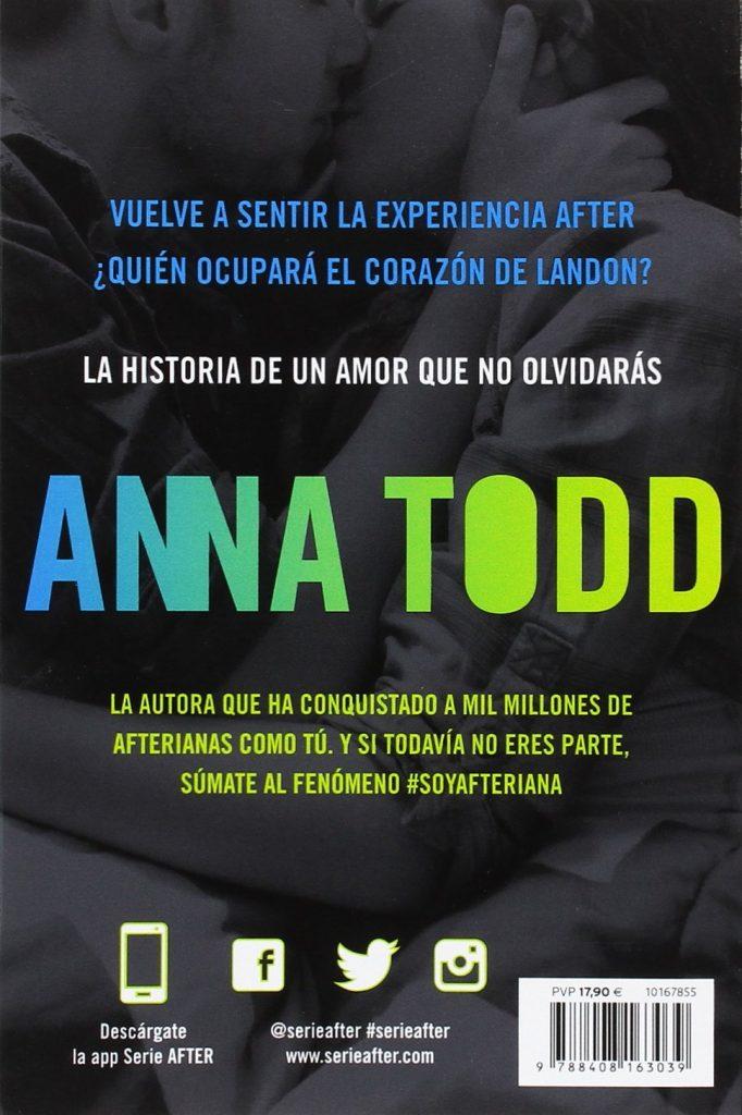 """Novela de amor juvenil """"Landon. Ahora y siempre"""" de Anna Todd #serieafter"""