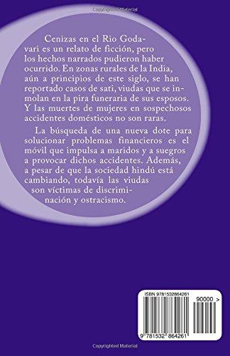 """Cenizas en el río Godavari"" de Lourdes María Monert"