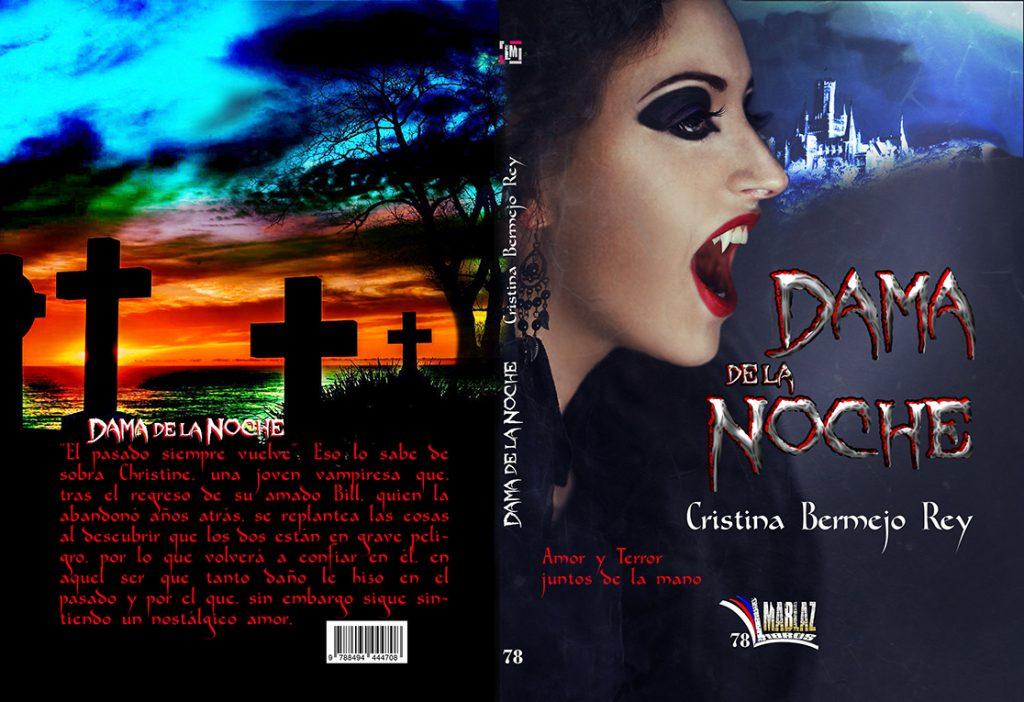 """Novela juvenil de vampiros """"Dama de la noche""""- Cristina Bermejo Rey"""