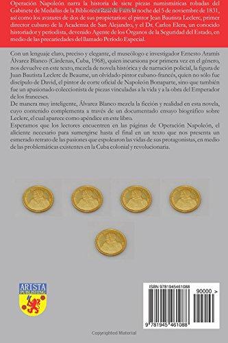 """Novela histórica y policíaca de Ernesto Aramis Álvarez Blanco- """"Operación Napoleón"""""""
