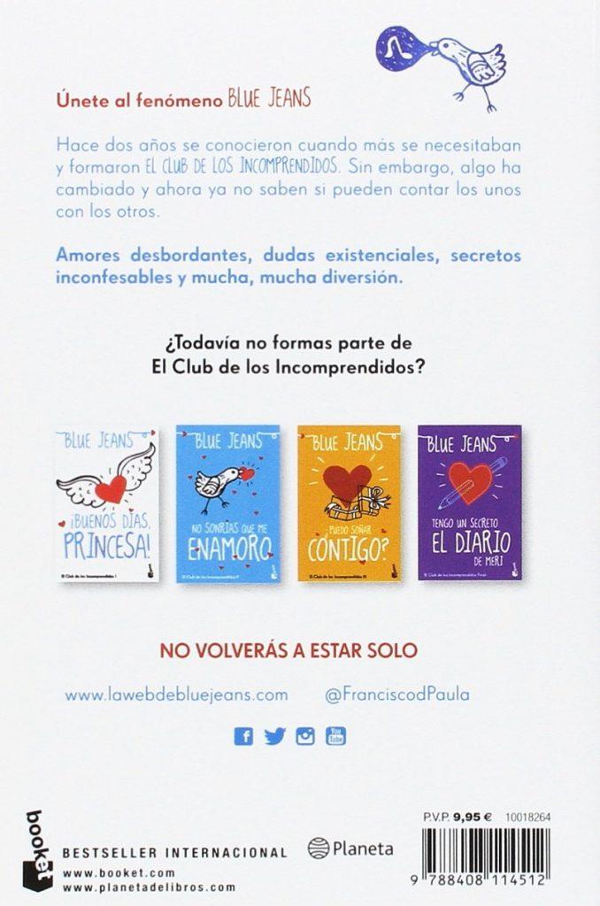 """""""Pack el Club de los Incomprendidos"""" Bestseller internacional de Blue Jeans"""