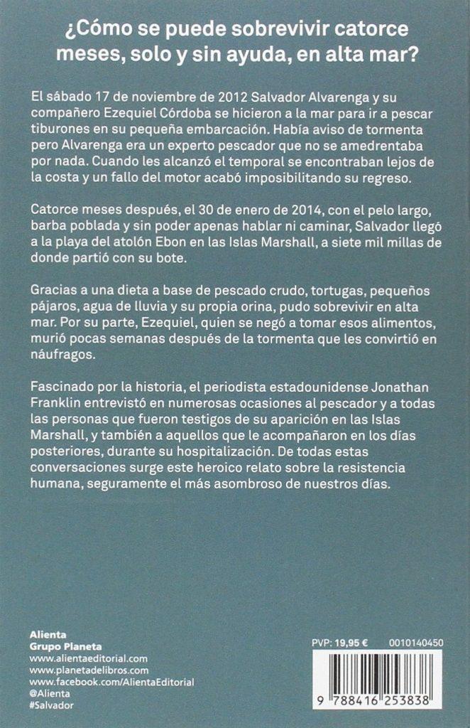 """Libro biográfico y de autoayuda """"Salvador"""" Jonathan Franklin"""