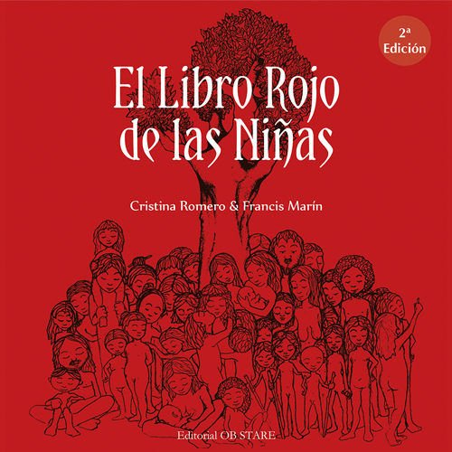 """Libro sobre mujeres """"El libro Rojo de las Niñas"""" Cristina Romero"""