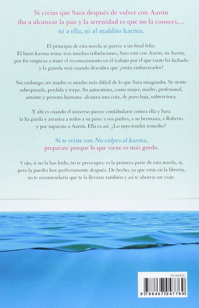 """Libro de humor juvenil """"Ante todo, mucho karma"""" de Laura Norton autora de No culpes al karma"""
