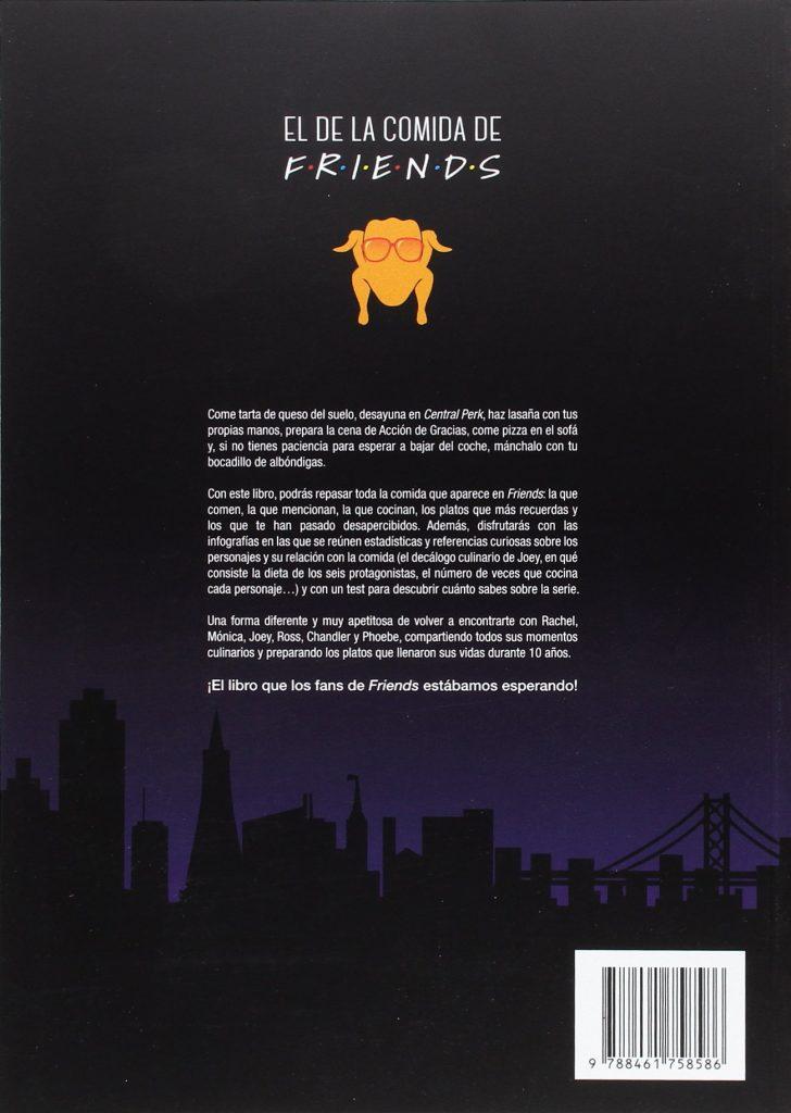 """Libro de recetas y cocina de la serie de televisión Friends """"El de la comida de Friends"""" Daniel López y Valentina Morillo"""