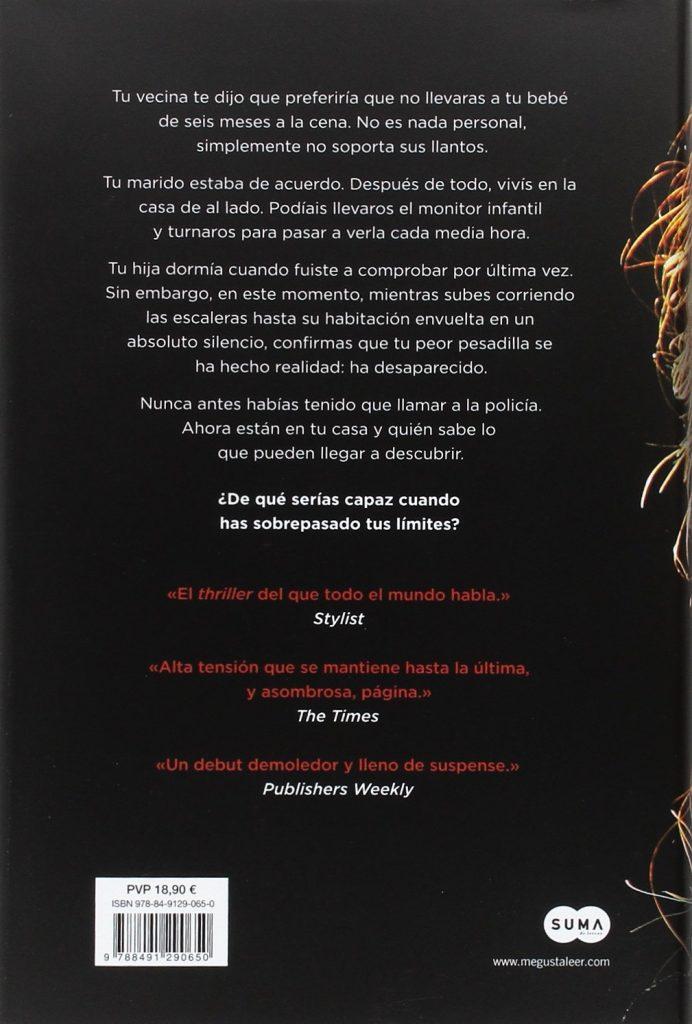 """Thriller de Shari Lapena """"La pareja de al lado"""" Novela negra, suspense"""