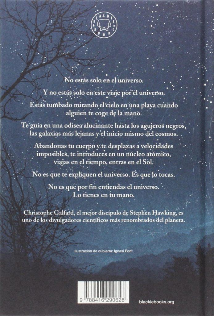"""""""El universo en tu mano"""" un libro de Christophe Galfard, el mejor discípulo de Stephen Hawking"""