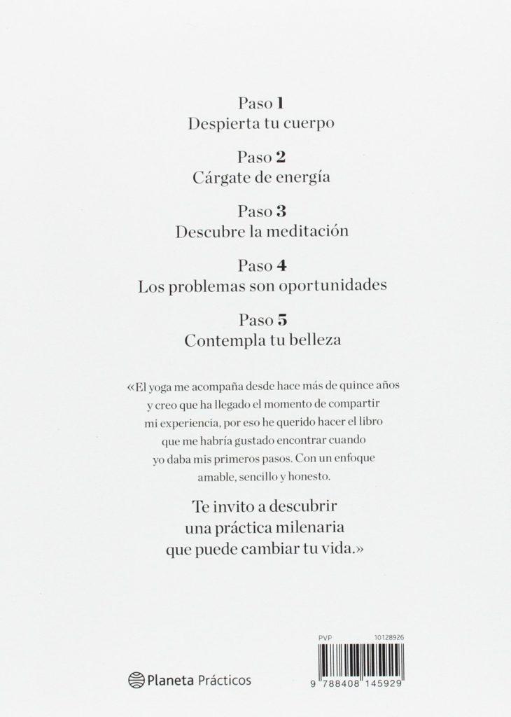 """Libro de salud y desarrollo personal de la modelo Vanesa Lorenzo """"Yoga, un estilo de vida"""""""
