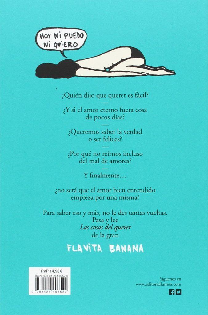 """Cómic de humor de Flavita Banana """"Las cosas del querer"""""""