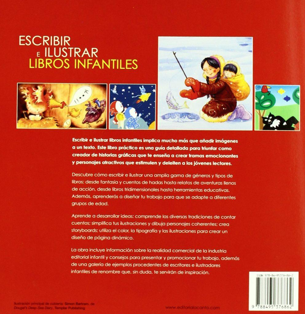 """Libro de técnicas para escritores """"Escribir e ilustrar libros infantiles"""""""