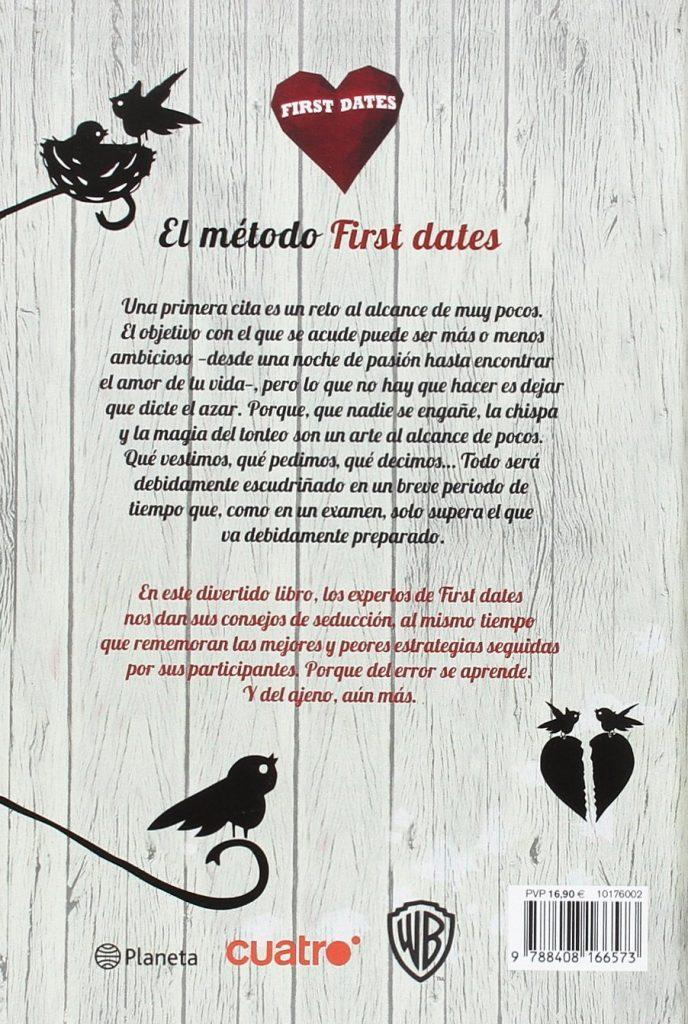 """Libro para ligar """"El método First Dates"""""""