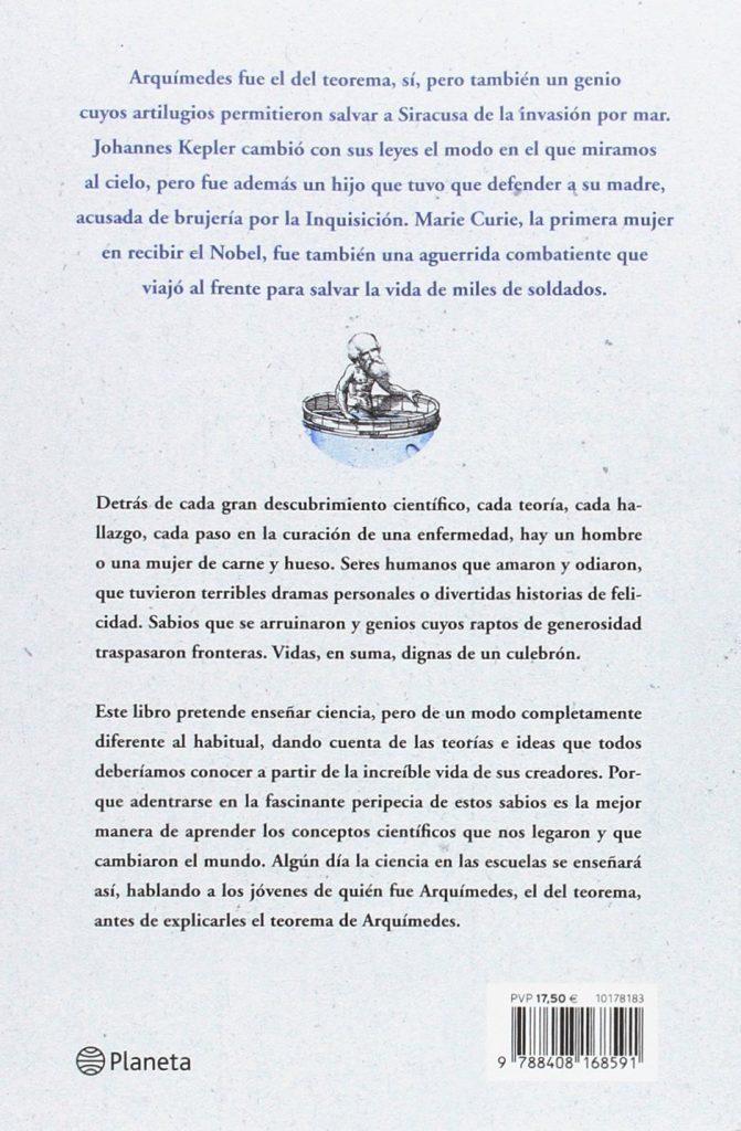 "Libro de historia de la ciencia ""Arquímedes, el del teorema"", Jorge Alcalde revista QUO"