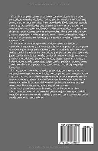 """Libro para aprender a técnicas de escritores """"Secretos para escribir novelas y relatos"""", Ramón Fernández Palmeral"""
