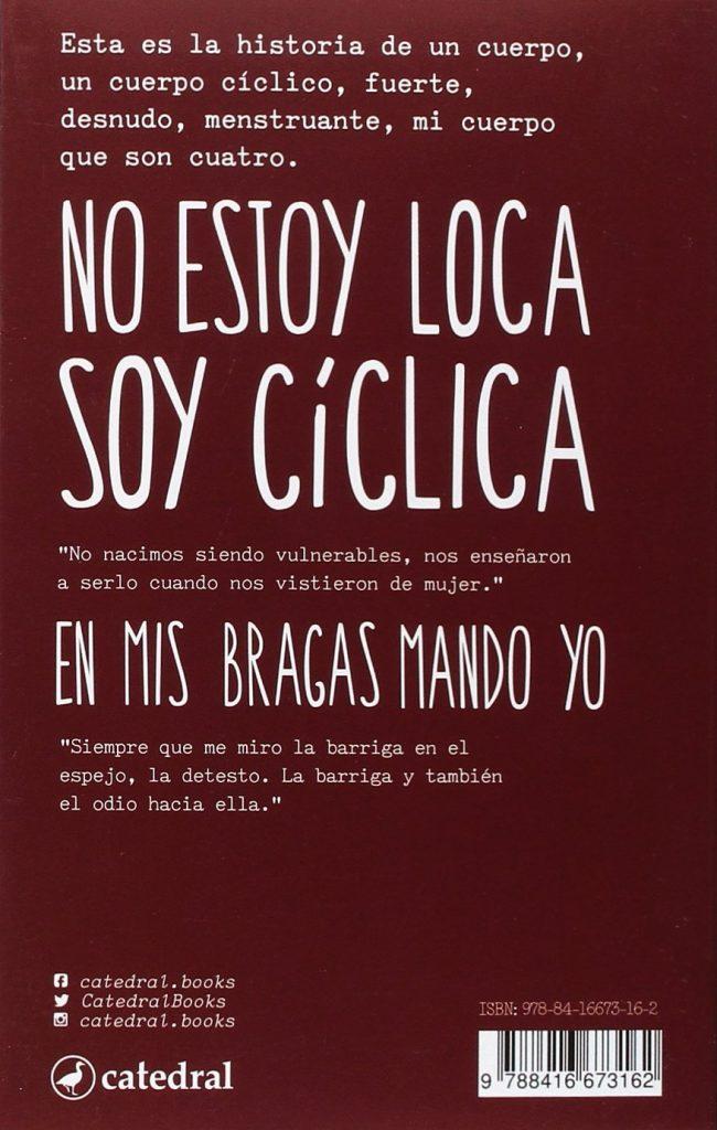 """Libro sobre el ciclo menstrual de Erika Irusta """"Diario de un cuerpo"""""""