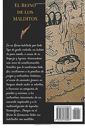 """Novela de aventuras y fantasía """"El reino de los malditos"""" un libro de Mario Garrido Espinosa"""