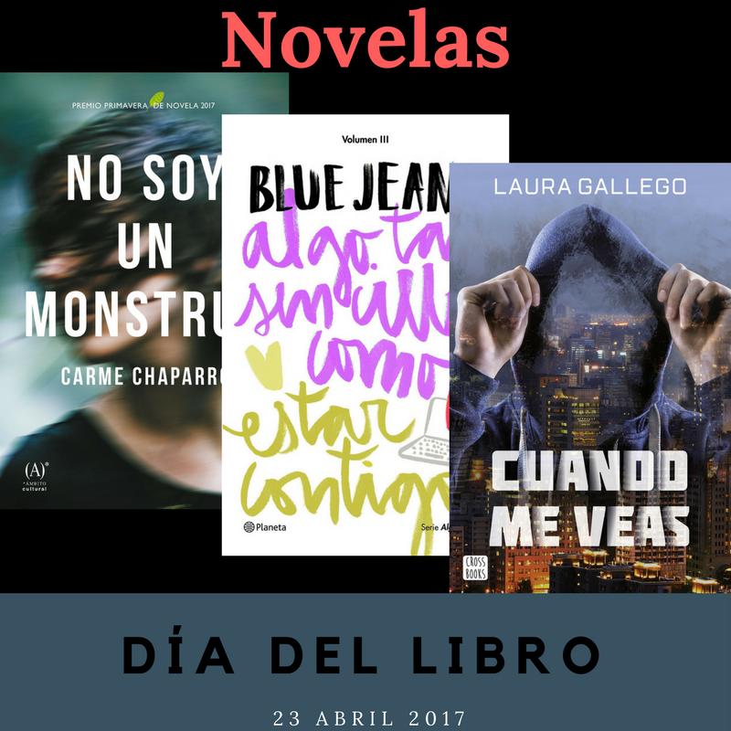 Novelas de amor y románticas, novela negra, libros juveniles y libros premiados - Día del Libro 2017