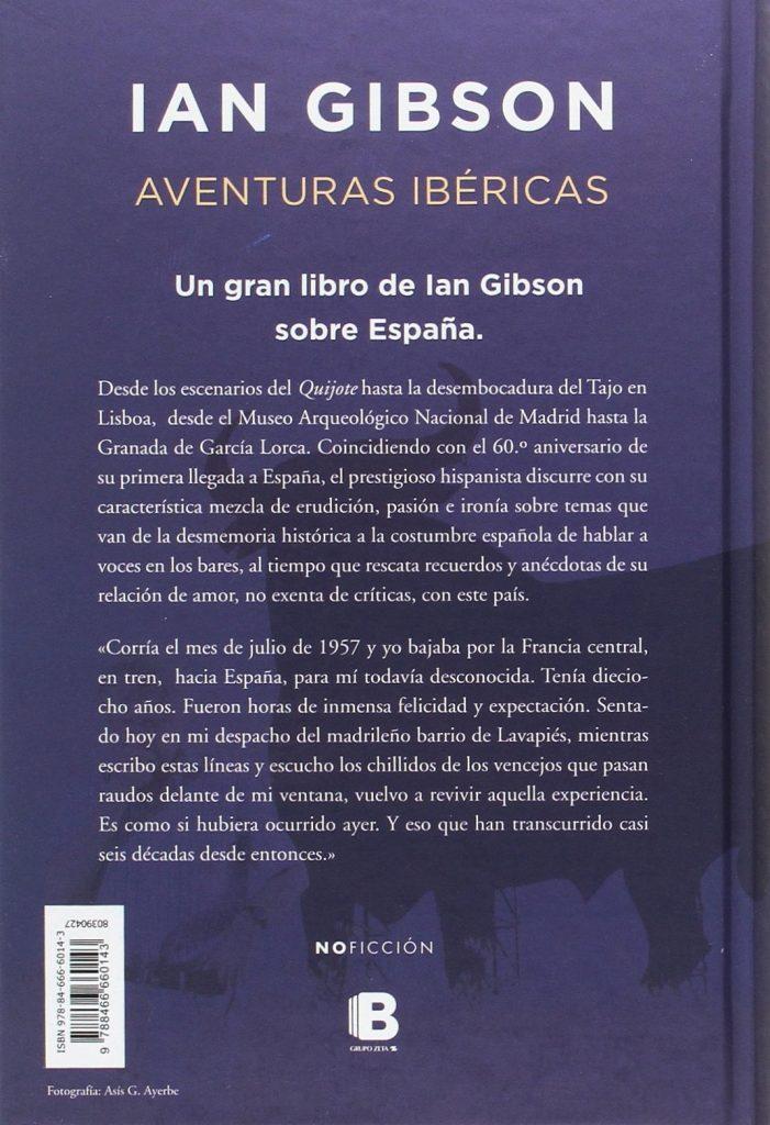 """Un gran libro de Ian Gibson sobre España """"Aventuras ibéricas"""""""