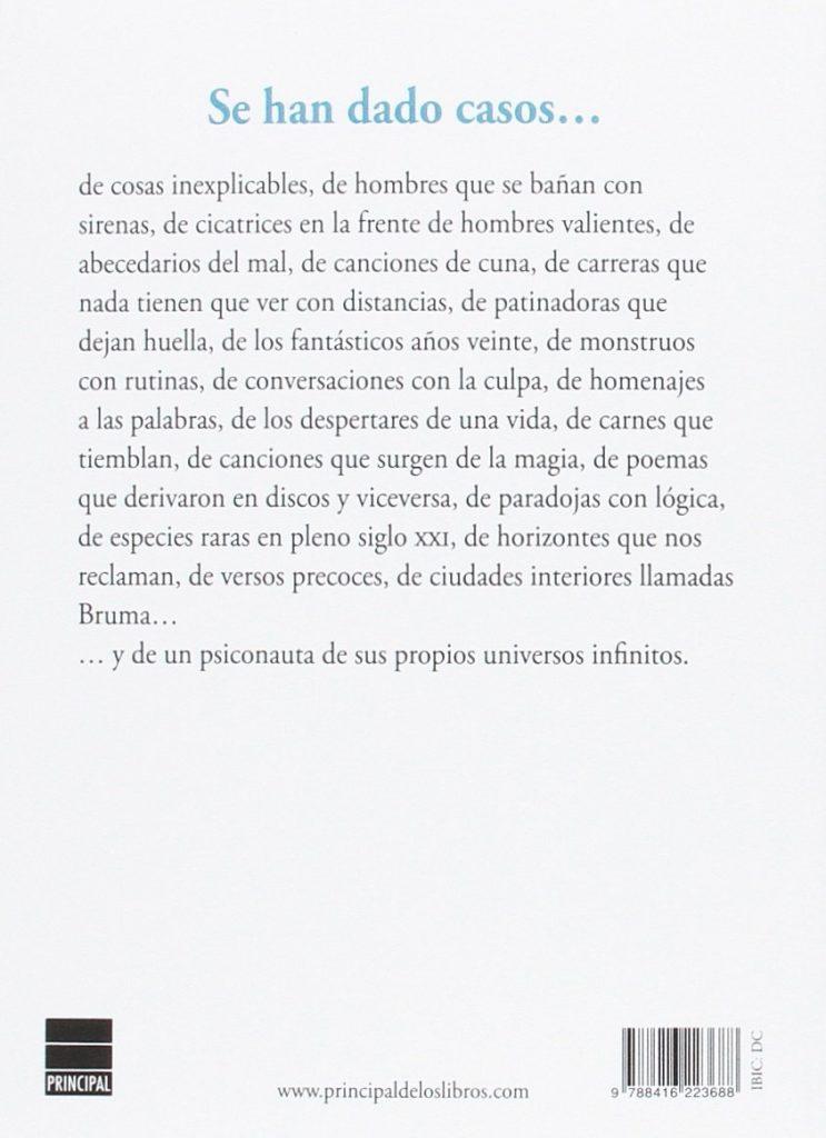 """Libro de poesía del cantante del grupo Love of Lesbian: Santi Balmes """"Canción de bruma"""""""
