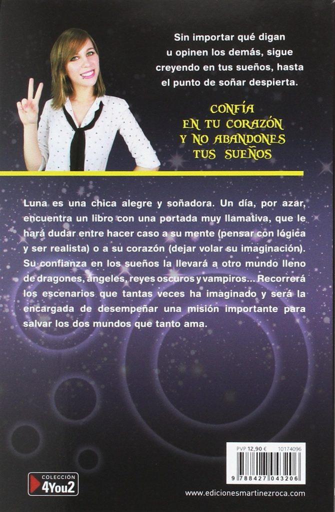 """Novela juvenil LunaDangelis """"Crea tus sueños"""""""
