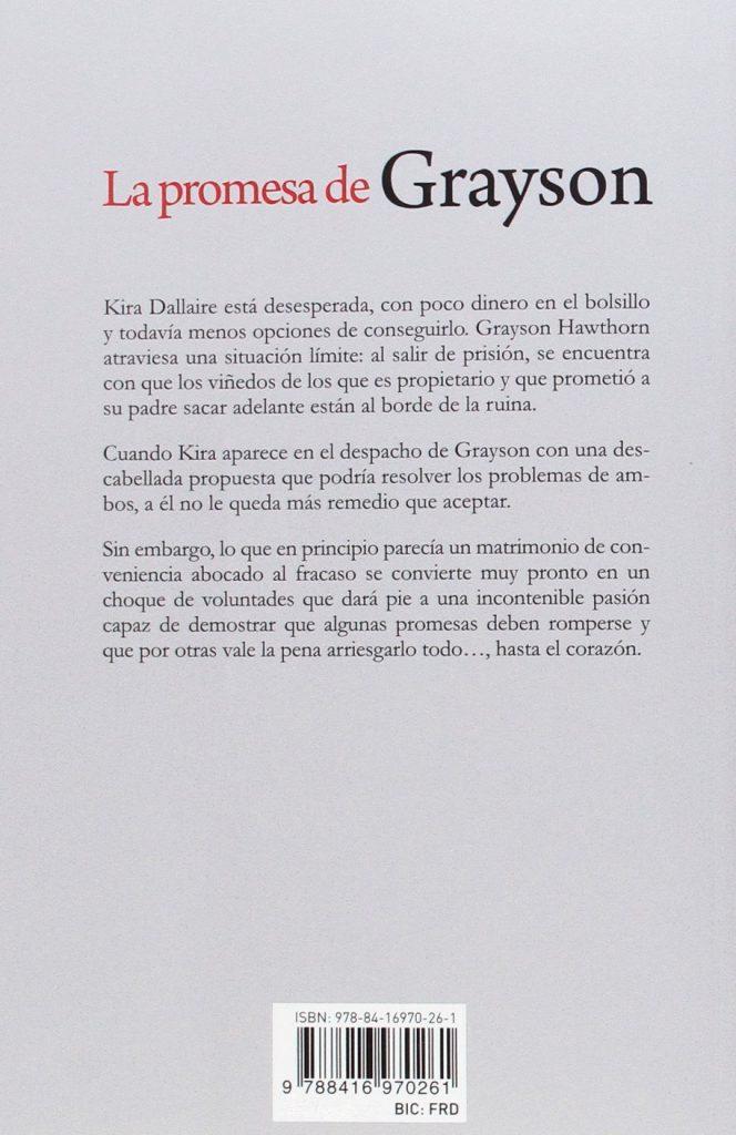 """Novela de amor de Mia Sheridan autora superventas """"La promesa de Grayson"""""""