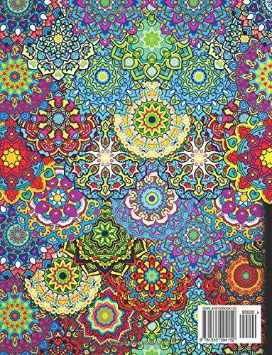 """""""Mandalas complejos. Libro de colorear para adultos"""""""