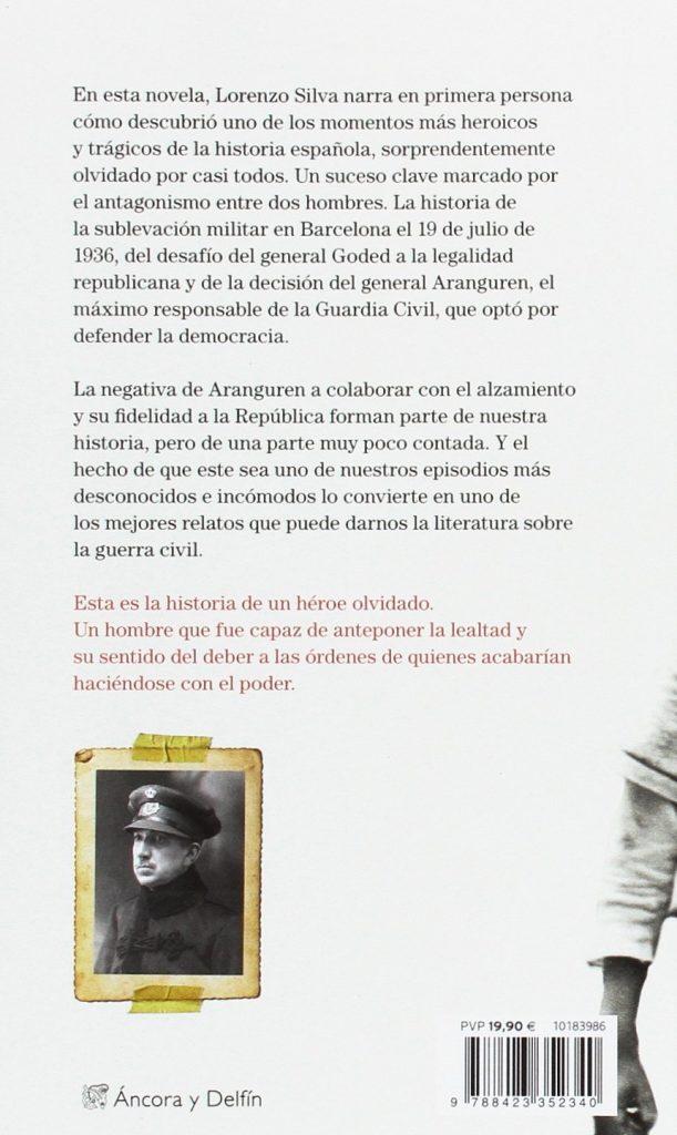 """Novela histórica de Lorenzo Silva """"Recordarán tu nombre"""""""