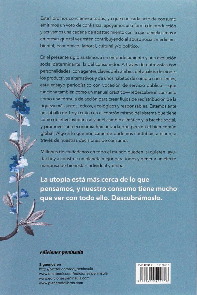 """""""Tu consumo puede cambiar el mundo"""" un libro Brenda Chávez sobre consumo responsable con el medio ambiente"""
