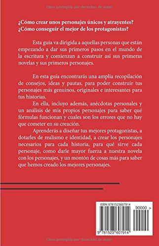 """Libro para escritores de Elena Cardenal """"Cómo crear personajes: Guía para principiantes"""""""