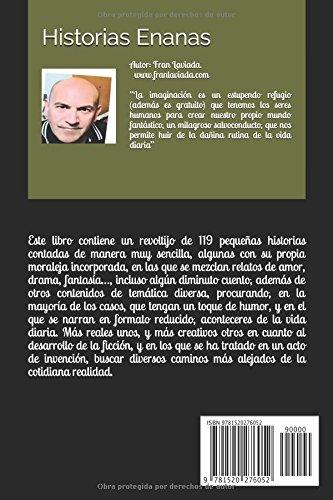 """Libro de cuentos de Fran Laviada """"Historias enanas"""""""